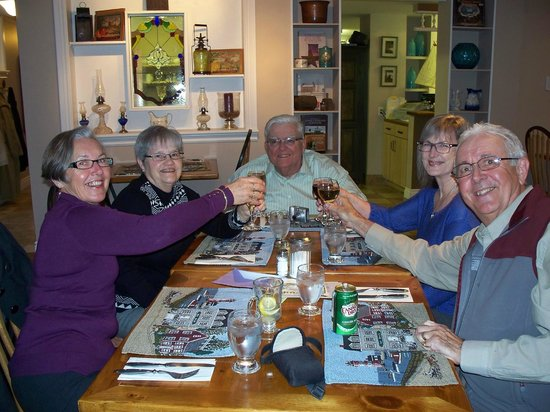 Cheers, everyone! Life gets better at the West Side Bistro!