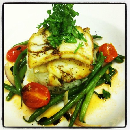 West 82 Bar and Grill :                   Chilean sea bass