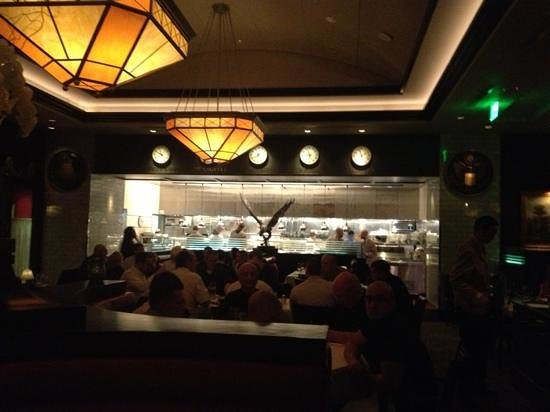 The Capital Grille: cocina a la vista