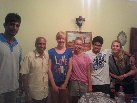 Green Villa Kandy: Happy guests