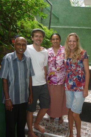Green Villa Kandy: Happy guest