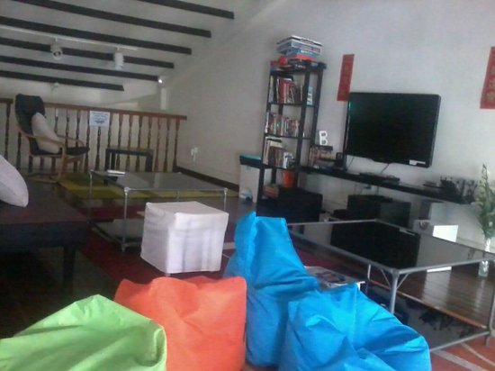 Matchbox The Concept Hostel:                   Chill out at the attic