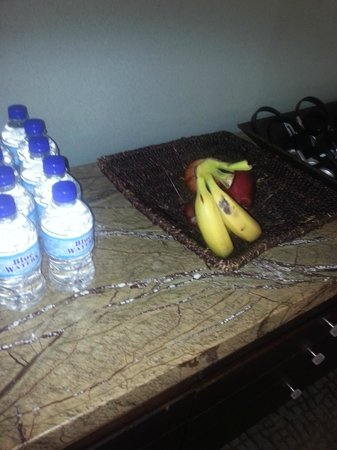 Hyatt Regency Trinidad:                   Fruit at the gym