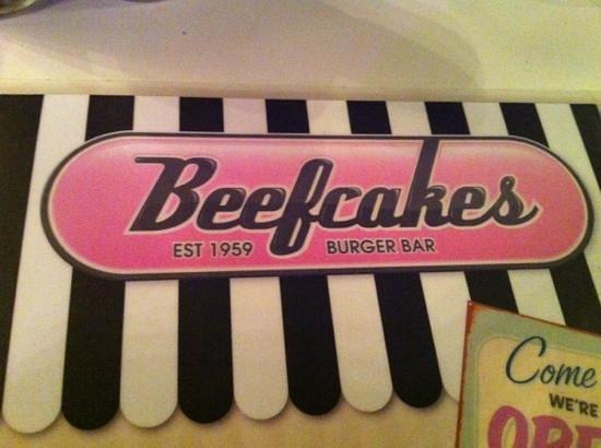 Beefcakes Johannesburg:                   menu