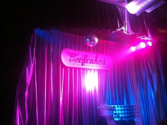 Beefcakes Johannesburg:                   stage