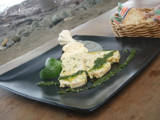 Playa de los Artistas :                   Not Sure what he Called this Baked Fish Dish but it was Perfect