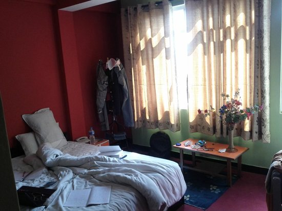 Hotel Silver Home:                   Double room on 4th floor. East facing