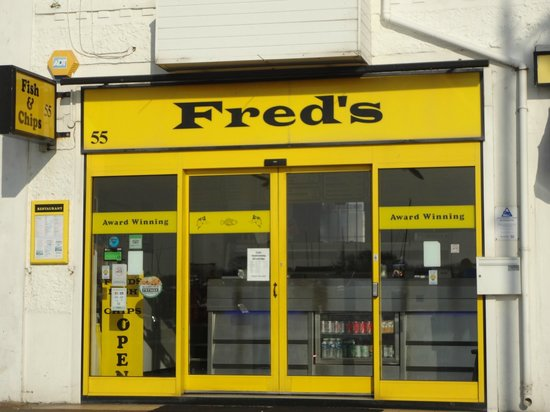 Fred's Fish & Chip Shop:                                     yum! Freds fish!