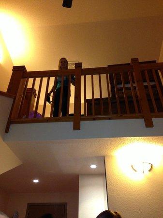 Chula Vista Resort:                   Loft room gave us plenty of space