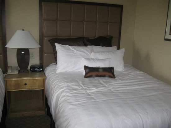 Crowne Plaza Hotel Louisville-Airport KY Expo Center:                   1 of 2 Queen beds in standard room