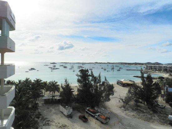 Atrium Beach Resort and Spa:                   our 8th fl view