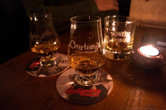 Courtney's Bar:                   Whiskey