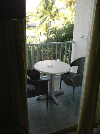 Time Out Hotel:                                     Balcony