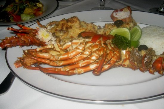 Reef Villa & Spa:                   Lobster thermidor