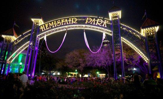 Hemisfair Park:                   Hemisfair Arches