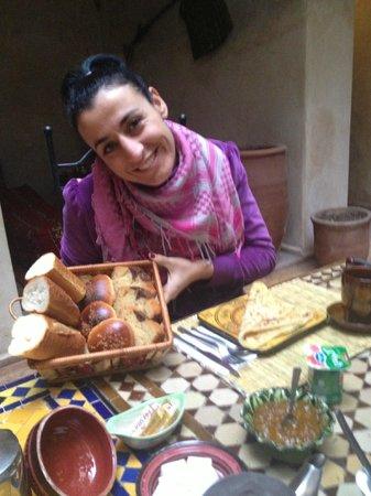 Riad Amanouz: colazione