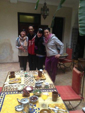 Riad Amanouz: con il gentilissimo Ouassine