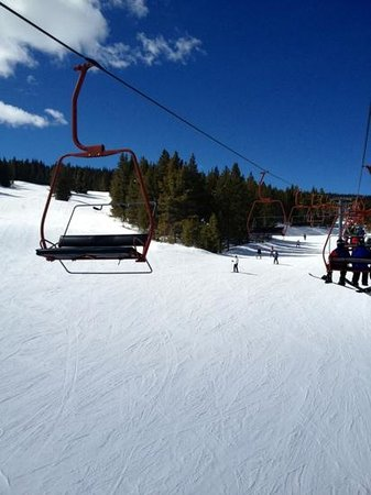 Copper Mountain Ski Area:                   Kokomo ski lift
