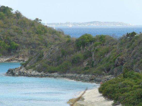 Scrub Island Resort, Spa & Marina, Autograph Collection :                   North Beach from a hill.