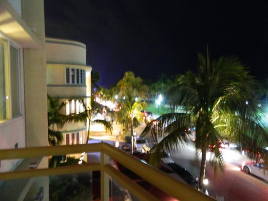 The Fritz Hotel:                   Ocean Drive view!