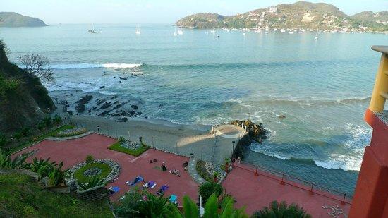 Hotel Irma:                   the beach