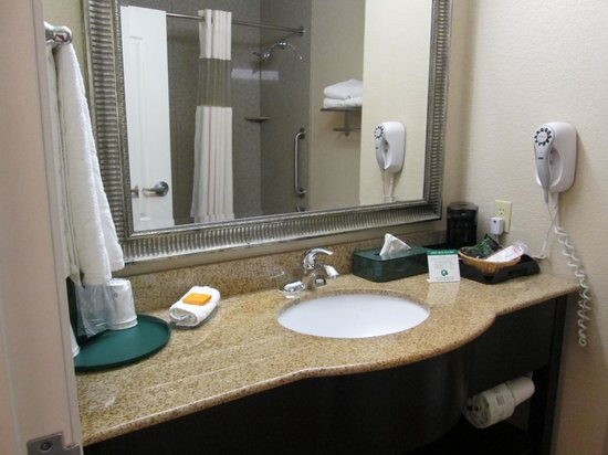 La Quinta Inn & Suites Garland Harbor Point :                   Bathroom
