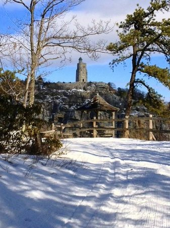 Mohonk Mountain House:                   Exceptional scenery