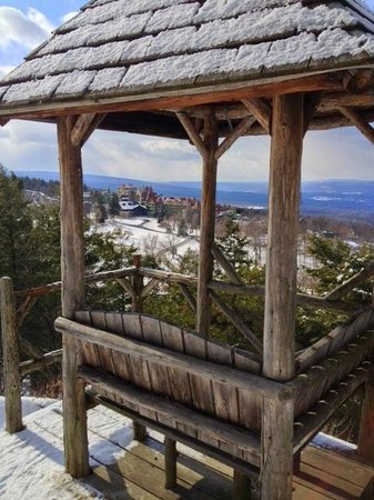 Mohonk Mountain House:                   Snowshoe Hike