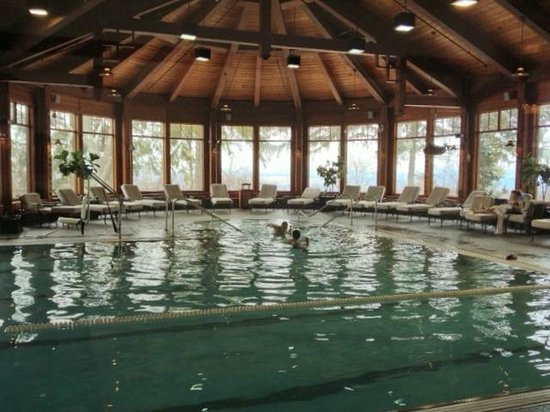 Mohonk Mountain House:                   Inviting Pool