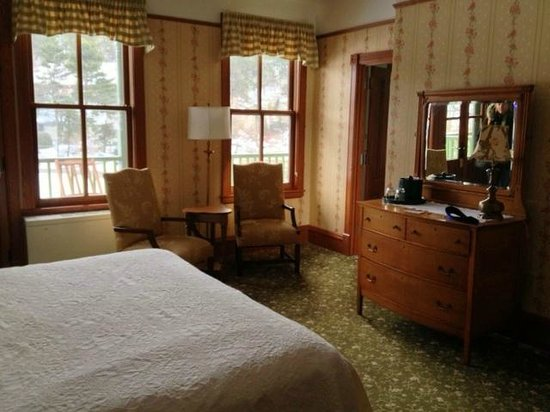 Mohonk Mountain House:                   Our room