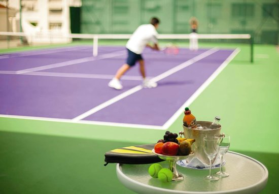 Belmond Copacabana Palace: Tennis Courts