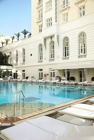 ‪‪Belmond Copacabana Palace‬: Copacabana Palace Pool‬