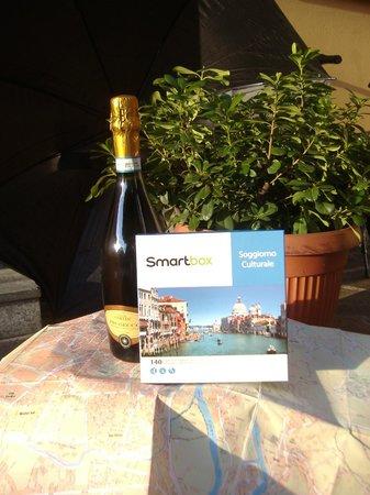Vald Hotel: Foto spumante con cofanetto Smart Box