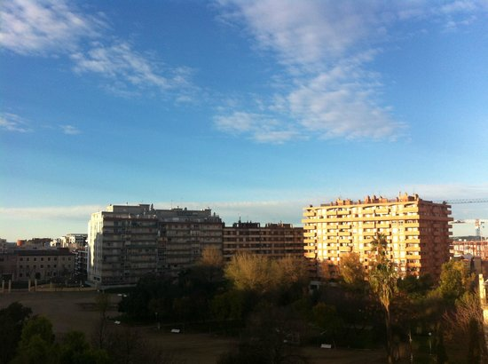 AC Hotel Tarragona :                   View over the park from room
