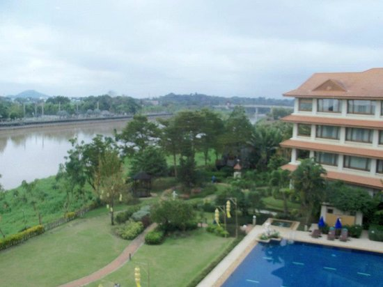 The Imperial River House Resort:                   From our floor-