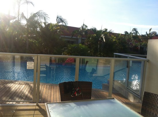 Oaks Pacific Blue Resort:                   Swim out balcony
