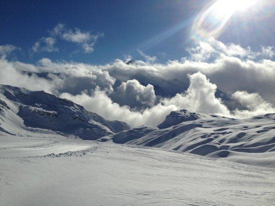 Club Med Peisey-Vallandry:                   Atop the Glacier