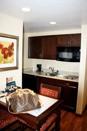 Homewood Suites by Hilton Las Vegas Airport:                   Hotel room