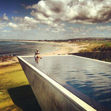 Playa VIK Jose Ignacio:                   Just chilling at the coolest pool ever!