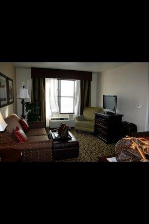 拉斯維加斯機場家庭式套房酒店照片