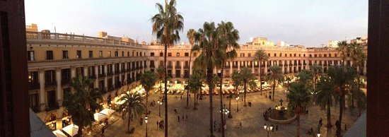 Hotel DO:                   View from our room (taken with iPhone 5 panarama feature)