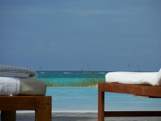 COMO Parrot Cay, Turks and Caicos:                   View from the Pool Area