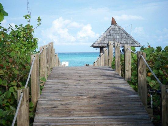 COMO Parrot Cay, Turks and Caicos:                   Boardwalk to Beach