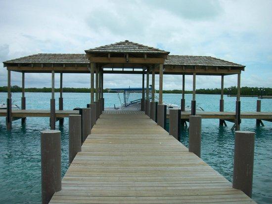 COMO Parrot Cay, Turks and Caicos:                   Docks