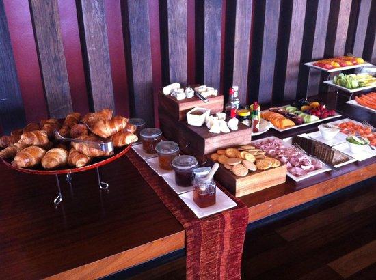 Grootbos Private Nature Reserve: colazione buffet dei dolci