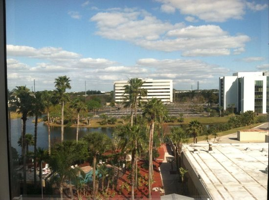 Doubletree By Hilton at the Entrance to Universal Orlando :                   View of pool area