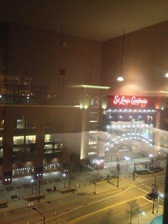 Westin St. Louis:                   Cardinal Stadium.