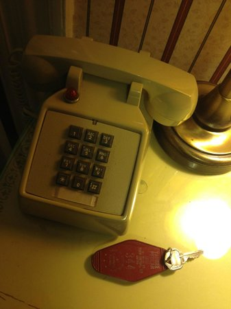 Yankee Pedlar Inn:                   When is the last time you had an actual key?