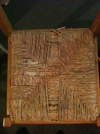 Résidence-Club Odalys Le Hameau du Mottaret : chaise