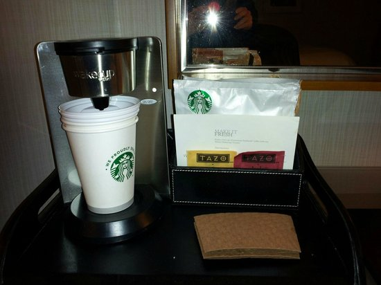 The Park Central San Francisco:                                     Complimentary Coffee and Tea